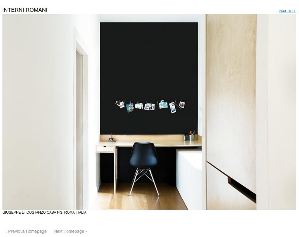 homepage architettura italiana _casa NG