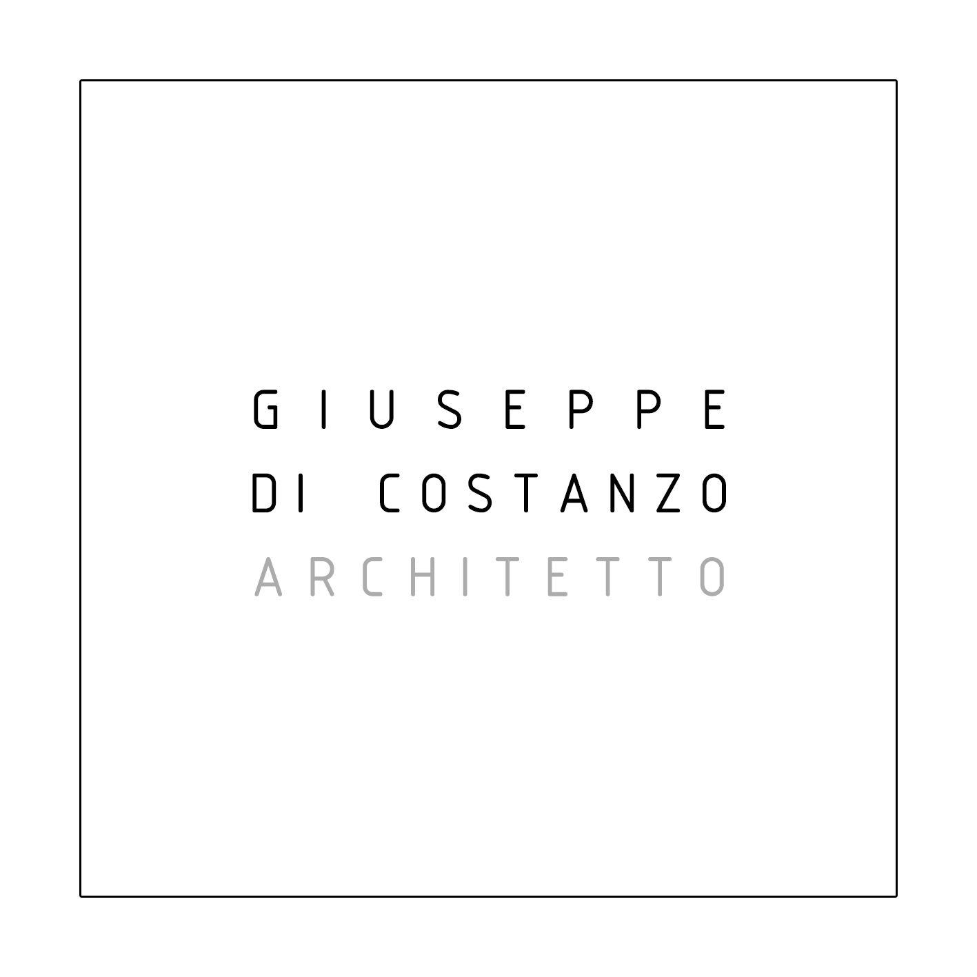GIUSEPPE DI COSTANZO   ARCHITETTO