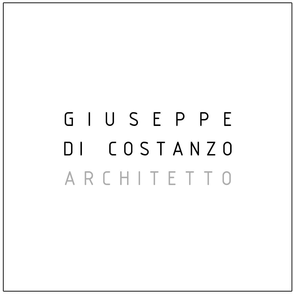 GIUSEPPE DI COSTANZO | ARCHITETTO